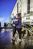 Sunny greetings (tootdood) Tags: canon6dmkii manchester piccadilly sunny greetings hugs blue sky wet rain