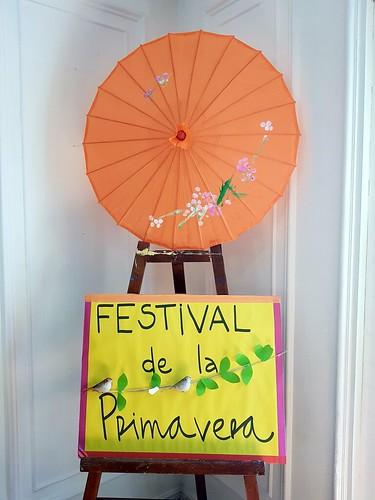 """Festival de la primavera """"poesías"""""""