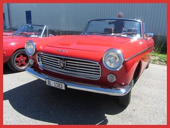 Peugeot 404 Convertible (v8dub) Tags: peugeot 404 convertible cabrio cabriolet pininfarina schweiz suisse switzerland langenthal french pkw voiture car wagen worldcars auto automobile automotive old oldtimer oldcar klassik classic collector