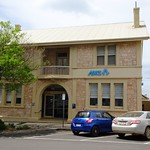 Kingscote on Kangaroo Island. The ANZ Bank built in 1922 for another banking company. Built in the Art Deco style of local limestone thumbnail