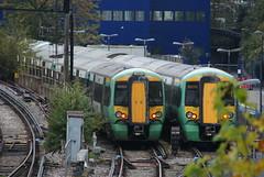 377434. (wagn1) Tags: britishrailclass377 class377 electricmultipleunit emu electrostar bombardiertransportation adtranz southernrailway southern govia trains londonvictoria london