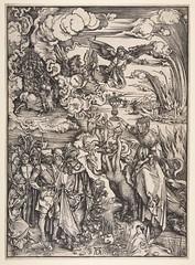 Albrecht Dürer (1471-1528) (nogretchen) Tags: albrechtdürer woodcut woodengraving apocalypse biblical