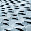 Prismatic (Ulrich Neitzel) Tags: abstract architecture architektur facade fassade hamburg mzuiko1250mm metallic olympusem1 prismatic rhomb rhombus square