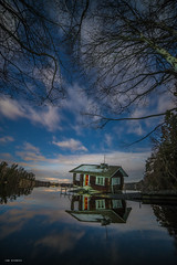 drunken sauna (sami kuosmanen) Tags: suomi sky syksy autumn art reflection luonto light landscape long lake lightpainting finland forest fun sauna abandoned järvi valo valotus värikäs vesi vanha photography puu pitkä pilvi europe exposure expression eerie taivas tree tumma travel tähti star
