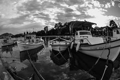 GREECE-WEATHER (X-Andra) Tags: mediterranean boat boats chalkida clouds euboea evia extreme greece greek harbor hurricane island medicane medicanes rain sea storm weather