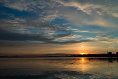 Awakening (Serhiy Borysov) Tags: canoneosm canon clouds summer sky sunrise shore ukraine blue mykolaiv river landscape reflection