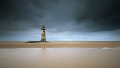 Time Served (Stu Patterson) Tags: stu patterson seascape point ayr lighthouse north wales talacre