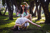 Monica's Charm (Warholy) Tags: review magic levitation flying illusion spiritual love hippie retro vintage fairytale fairy flower