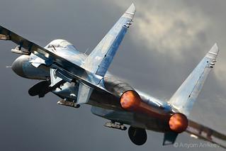 Ukrainian beautiful Su-27