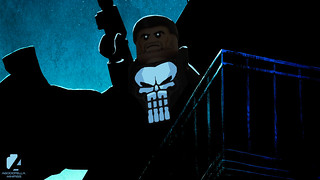 The Punisher 💀 (Dark Knight) [A DAY IN THE LIFE] [MARVEL]