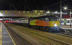 1Z66 London Kings Cross to Hull Paragon at Peterborough with Colas Rail 47749 leading GBRf 66742 25-11-2017 (Iain Wright Photography) Tags: 1z66 london kings cross hull paragon peterborough with colas rail 47749 leading gbrf 66742 25112017 abp tour mark 2s br blue