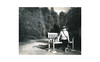 (WOGO*) Tags: aero ektar graflex polaroid 665 expired instant film portrait yorkie park bench