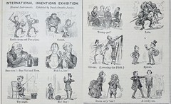 Inventions Exhibition, Musical Instruments - Punch 1885 (AndyBrii) Tags: punch 1885 wit satire irony cartoons