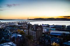 Wake up Dunders (daedmike) Tags: tay dundee tayside scotland river estuary bridge va queenshotel morning sunrise fife tayport