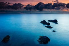 """El gran azul"" (Juan Galián) Tags: canon60d costa coast cielo cabopalos canon landscape litoral agua amanecer spain sea sunrise murcia mar mediterráneo water tokina horizonte marina"