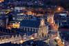 Sint-Romboutstoren en Skywalk (DirkVandeVelde back , and catching up) Tags: europa europ europe belgie belgium belgica belgique buiten antwerpen anvers antwerp mechelen malines malinas sony sintromboutstoren sintromboutskathedraal skywalk sintpieterenpauluskerk nightshot sintromboutscollege