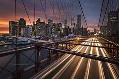 Brooklyn Bridge - New York City (www.antoniogaudenciophoto.com) Tags: newyork city newyorkcity manhattan brooklyn pont voiture