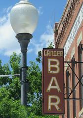 A bar in Lander (jimsawthat) Tags: smalltown bar lander wyoming metalsign vintagesign neon