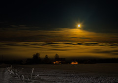 Supermoon (tods_photo) Tags: ifttt 500px landscape light moon magic star colours houses super popular tags