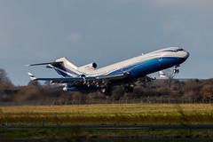 Starling Aviation Ltd Boeing 727-2X8 RE M-STAR C-N 22687 EINN 291117 (gerrykane214) Tags: boeing 727 business jet shannon international airport ireland mstar takeoff classic