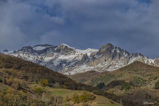 Nieve en los Picos