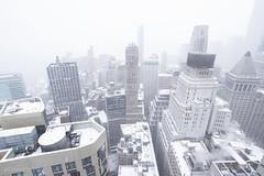 New York City | FiDi Snowstorm 04 (Christopher James Botham) Tags: nyc newyork newyorkcity manhattan lowermanhattan fidi financialdistrict wallstreet exchangeplace 20exchangeplace 20xnyc iloveny ilovenewyork city cityscape urban skyline snow snowstorm storm weather winter morning earlymorning