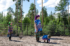 Khanty-70 (Polina K Petrenko) Tags: farnorth russia siberia culture ethnic holiday indigenous khanty localpeople nikon reindeer traditional