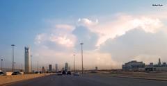 "Arriving to Riyadh city ("" Don Quixote "") Tags: sky skyline road city riyadh saudi arab entry entrance daylight skyscraper الرياض المملكةالعربيةالسعودية towers"