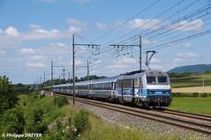 BB26164 sur Corail Strasbourg Lyon vers St Etienne du Bois (philippedreyer1) Tags: