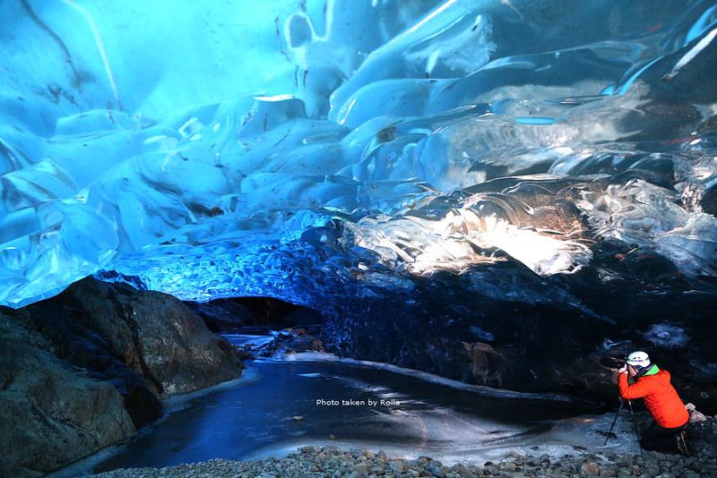 冰島,冬天限定的藍冰洞(Blue Ice Cave)探險