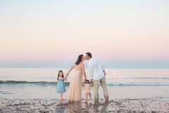 the kiss (BelliniPortraits) Tags: beach portraits family sunset capecod southshore massachusetts bostonfamilyphotographer