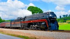 Norfolk & Western 611 (MikeArmstrong) Tags: 611 steam train locomotive nw norfolk western roanoke virginia excursion