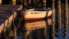 Anchor's Away (ArmyJacket) Tags: usnavalacademy navy annapolis maryland harbor water boat reflection sunset dock outdoors flickrdiamond