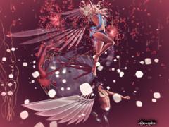 Cyber Angel (Max McMahon) Tags: roymildor rmartofposes artists