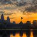 Watch the sun rise at Angkor Wat