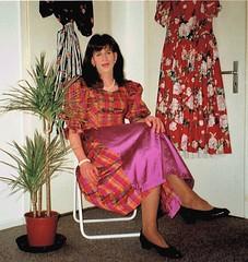 when I was young 06 (cdhousewife) Tags: transvestit crossdresser dirndl schürze apron