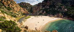 Buccaneer's hideout (Beppe Rijs) Tags: sardinien italy sardegna sardinia landscape light nature italien coast coastline mediterraneansea mittelmeer water bay blue atmosphere rock beach green paradise