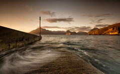 Elgol Tide (-- Q --) Tags: skye scotland westcoast elgol lee09softgrad lee06softgrad marumidhgcpl sunset waves longexposure isleofskye lochscavaig scottishhighlands strathairdpeninsula
