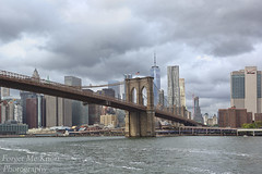 Brooklyn Bridge (Forget Me Knott Photography) Tags: brooklyn brooklynbridge bridge nyc newyorkcity ny newyork city urban buildings lowermanhattan manhattan clouds cloudy eastriver river hudson atlantic ocean sea water worldtradecenter freedomtower
