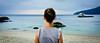 Sentiment océanique (WhiteFlowersFade) Tags: malaisie malaysia asie asia asiedusudest southeastasia travel voyage islands îles pulauperhentian perhentian mer sea seascape paysagemarin coast côtes coastline lignedhorizon reise mare clouds nuages personnes people gens océan ocean pacific pacifique blue bleu plage beach fuji fujifilm x100