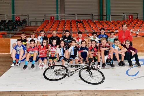 Ecole de cyclisme de la piste, élèves groupe 2