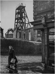 Elswick Colliery, Newcastle 1950 (Pitheadgear) Tags: northeast england britain mines miners mining pit pits pitmen coal colliery collieries coalmining blackandwhite mono monochrome elswick elswickcolliery newcastle