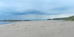 Cruden Bay, Aberdeenshire, Oct 2016 (allanmaciver) Tags: cruden bay aberdeenshire north east coast sand sea shore low view horizon rain shower clouds allanmaciver