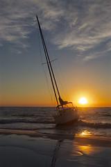 IMG_5486_Beached (2) (lada/photo) Tags: sailboat sunset water reflections gulfofmexico ladaphoto rajoreiv