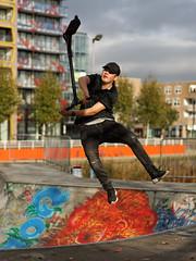 """""""the Twist"""" (laagwater) Tags: sonya7 carlzeissplanart85mmf14 planar zeiss contax 85mm f14 lelystad twist skatingpark skatebaan"""