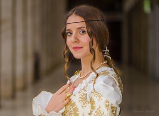 12 novembre 2017. Svetlana come in un dipinto del Rinascimento