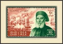 MiNr. 328 1948, 10. Nov. 100. Todestag von Ibrahim Pascha (1789-1848) MiNr. 328. Egypt 2719 M (Morton1905) Tags: 1948 10 nov 100 todestag von ibrahim pascha 17891848 minr 328 egypt 2719 m