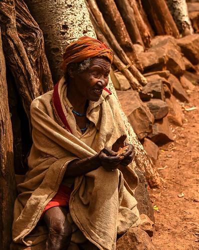 Konso Blind Woman
