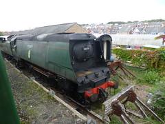 "Preserved BR 34070 ""Manston"" 14092017 (Rossendalian2013) Tags: preserved steamlocomotive britishrailways battleofbritainclass 462 34070 manston swanagerailway brightonworks southernrailway 21c170 swanage train locomotive"