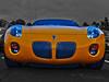 Winter Solstice (oybay©) Tags: halloween pumpkin car automobile pontiac pontiacsolstice solstice orange color colors colorful generalmotors gm arizona macro lines vehicle